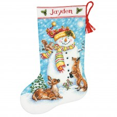 Counted Cross Stitch: Stocking: Winter Friends