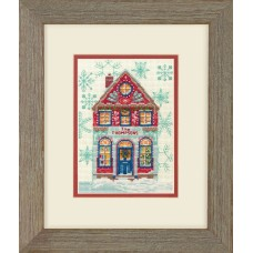 Counted Cross Stitch: Holiday Home