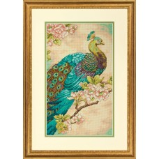 Counted Cross Stitch: Indian Peacock