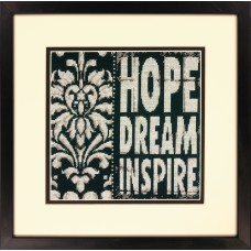 Counted Cross Stitch: Words To Inspire