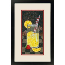 Classic: Counted Cross Stitch: Lemonade Diner