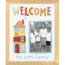 Counted Cross Stitch Kit: Welcome Home