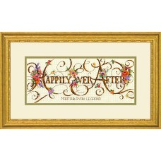Counted Cross Stitch Kit: Ever After