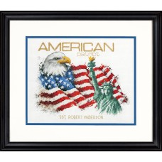 Counted Cross Stitch Kit: American Patriot