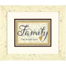 Counted Cross Stitch: Family