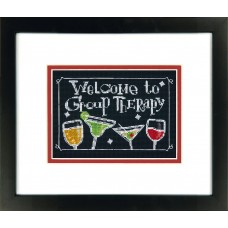 Classic: Counted Cross Stitch: Group Therapy