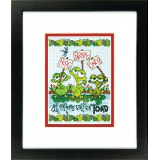 Classic: Counted Cross Stitch: Frog Parking