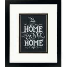 Classic: Counted Cross Stitch: Home Crazy Home