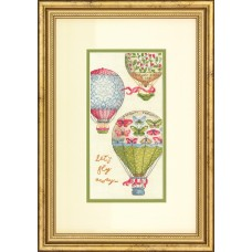 Counted Cross Stitch Kit: Let's Fly Away