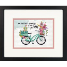 Counted Cross Stitch: Wherever You Go