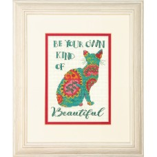 Counted Cross Stitch: Paisley Cat