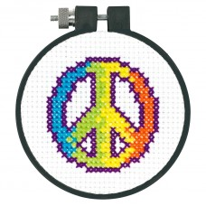 Learn-a-Craft: Counted Cross Stitch: Rainbow Peace