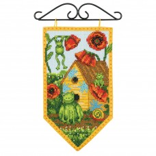 Counted Cross Stitch Kit: Summer