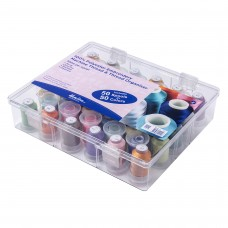 Thread Box and Storage Organiser: Filled: Polyester Machine Embroidery Thread