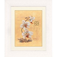 Counted Cross Stitch Kit: Three Orchids