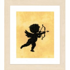Counted Cross Stitch Kit: Cupid I (Evenweave)