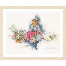 Counted Cross Stitch Kit: My Fair Lady (Linen)
