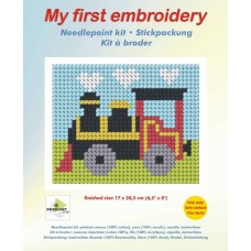 Needlepoint Kit: My First Embroidery: Puff Puff