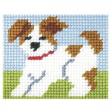Needlepoint Kit: My First Embroidery: Puppy