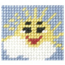Needlepoint Kit: My First Embroidery: Sunny Day