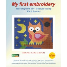 Needlepoint Kit: My First Embroidery: Owl