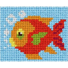 Needlepoint Kit: My First Embroidery: Fish