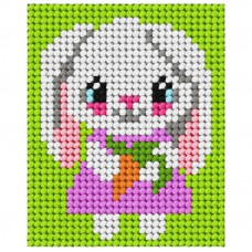 Needlepoint Kit: My First Embroidery: Rabbit