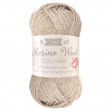 Yarn for Doll Hair: Blonde: 12.5g