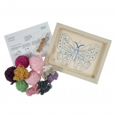 Punch Needle Kit: Butterfly