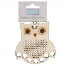 Embroidery Floss Holder: Owl