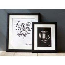 Counted Cross Stitch Kit: Good Vibes