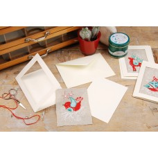 Counted Cross Stitch Kit: Cards: Winter Scenes: Set of 3