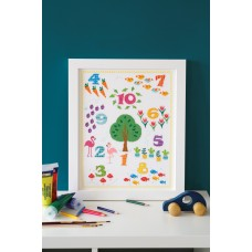 Counted Cross Stitch Kit: Count to 10