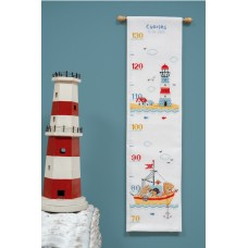 Counted Cross Stitch Kit: Boat Sailing