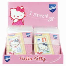 Counter Display Unit: Hello Kitty Counted Cross Stitch Alphabet Designs: 26 Kits