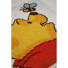 Diamond Painting Kit: Disney: Pooh with Butterfly