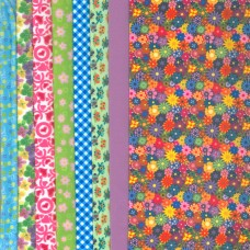 Making Couture Fabric Set: Summer Flowers