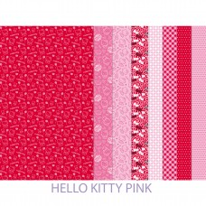 Making Couture Fabric Set: Hello Kitty Pink