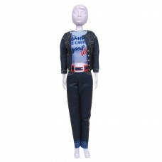 Couture Outfit Making Set: Kitty Denim