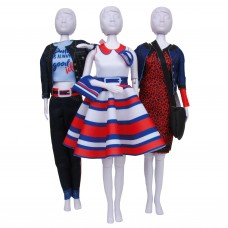 Couture Outfit Making Set: Peggy Stripes