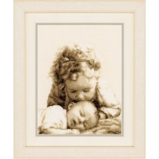 Counted Cross Stitch Kit - Sisterly Love