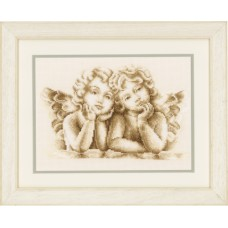Counted Cross Stitch: Dreaming Angels