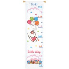 Counted Cross Stitch: Height Chart: Hello Kitty