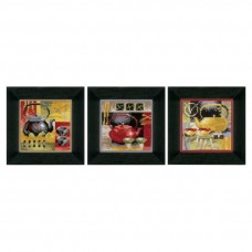 Counted Cross Stitch: Asian Tea Ceremony: Set of 3