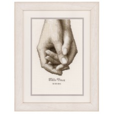 Counted Cross Stitch Kit: Hand in Hand