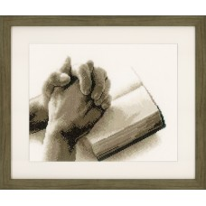 Counted Cross Stitch Kit: Praying Hands
