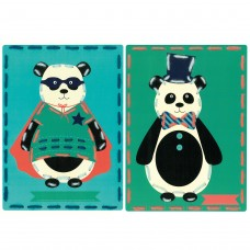 Embroidery Kit: Cards: Circus: Set of 2