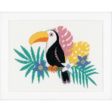 Counted Cross Stitch Kit: Toucan