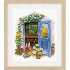 Counted Cross Stitch Kit: My Garden Shed  (Aida)
