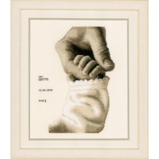 Counted Cross Stitch Kit: Baby Love